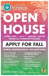 Honolulu CC open house flyer