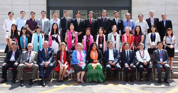 Participants in the 3rd Annual Sino-U.S. Media Forum in Beijing, China.