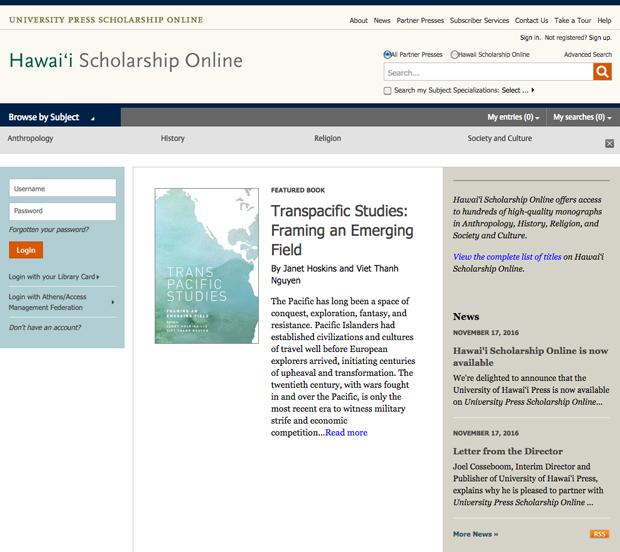 hawaii-scholarship-online homepage