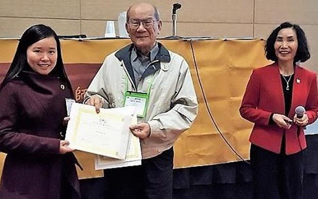 Group photo of Chinese language awardees