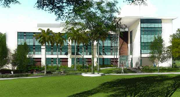 Rendering Of The New Life Sciences Building On The UH Mānoa Campus.