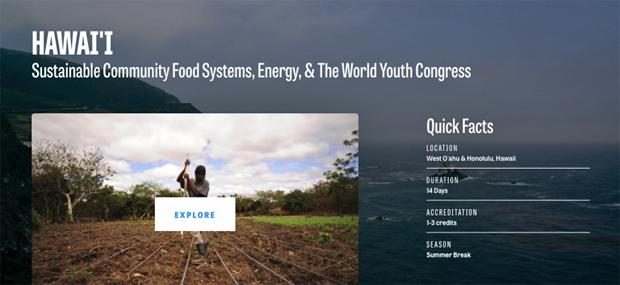 GREEN program website