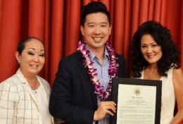 Lori Ideta, Stanley Chang, and Allyson Tanouye