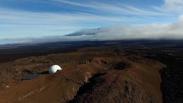 The HI-SEAS dome on Mauna Loa