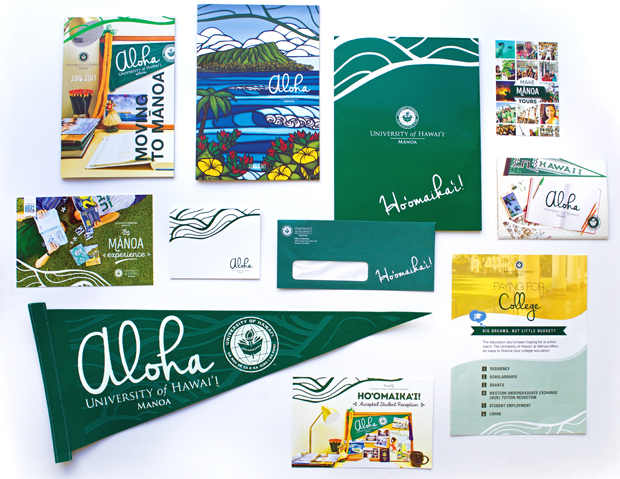 Make Mānoa Yours promotional materials