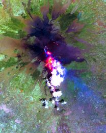 Mt. Etna from space