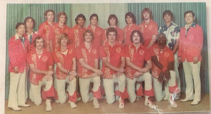 1976-77 men's basketball team