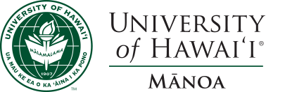 UH Manoa seal and nameplate