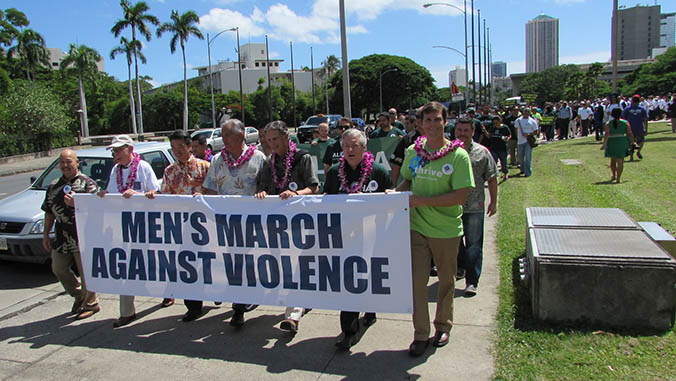 UH Marches To End Domestic Violence