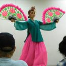 traditional Korean dancer