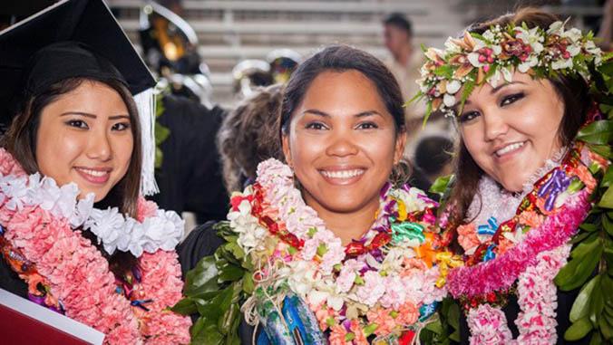 UH Hilo graduates