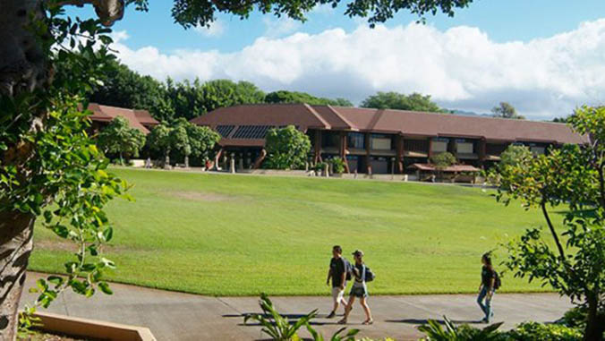 The Great Lawn at Kapiolani Community College