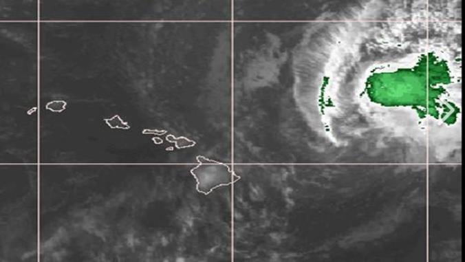Hurricane Olivia. Image: N O A A