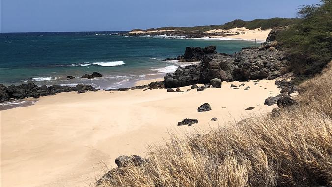 Kahoolawe island coastline