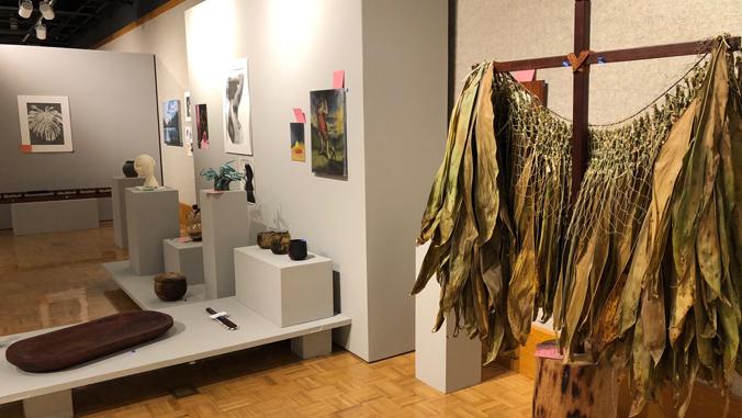 art displayed at Windward art gallery