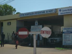 Outside of Senegal Hospital