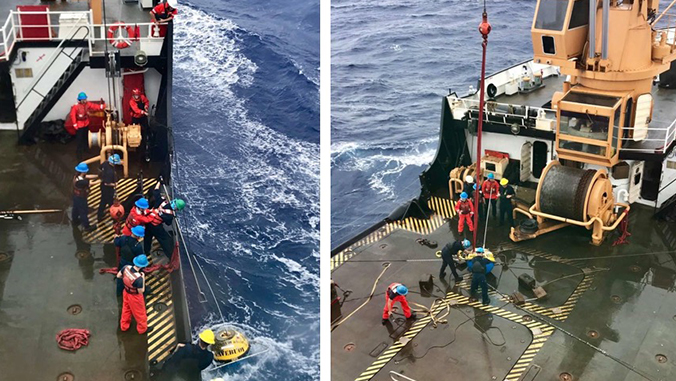 PacIOOS wave buoy recovered after drifting 800 nautical miles