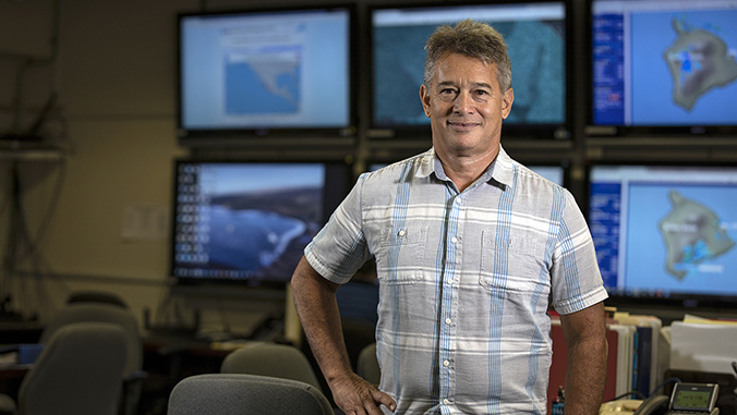 From lava to hurricanes, UH Hilo alum steers emergency response on Hawaiʻi Island