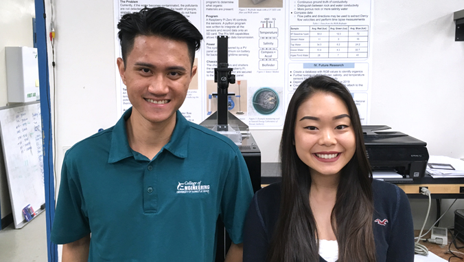 UH student developed sensor could revolutionize well-water monitoring