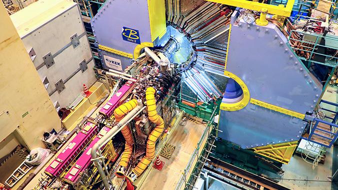 UH physics team seeks new phenomena through Japan particle collider