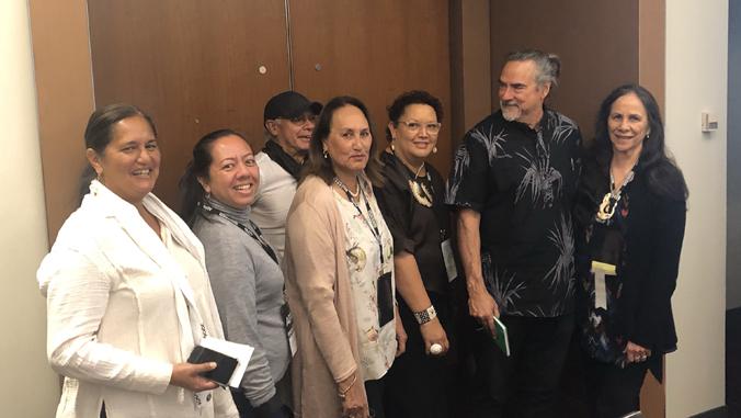 group photo at A E R A annual meeting