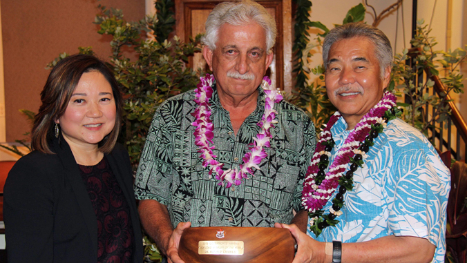 UH takes top honors at governor's awards