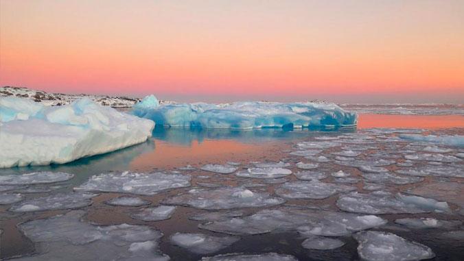 Small icebergs