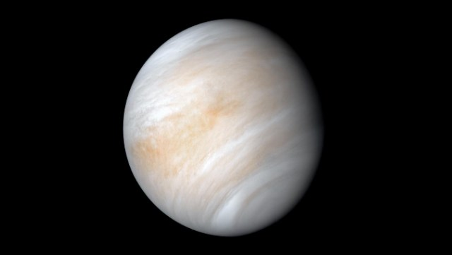 Venus is the second planet from the Sun with a surface temperature above 860 degrees Fahrenheit. (Photo courtesy: NASA/JPL-Caltech)
