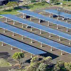 link to more information for Leeward Community College PV Carport Shade Structure
