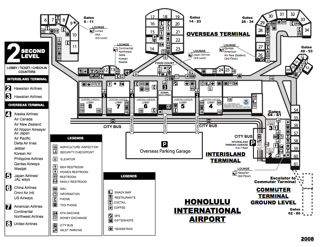 Seattle Airport Delta Terminal Diagram