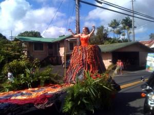 2008 Pahoa Holiday Parade.
