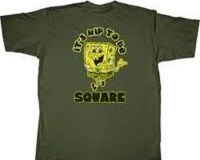 A body found at Higashihara park was wearing a blue SpongeBob T-shirt somewhat like the one depicted above.