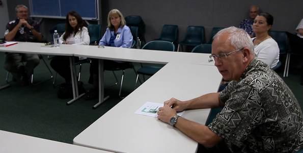 Kona Community Hospital CEO Jay Kreuzer talks about future plans for the hospital. Photography by Baron Sekiya   Hawaii 24/7