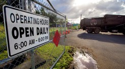 Relocated Pahoa Transfer Station near the top of Kauhale Street above the Pahoa Community Center. Photography by Baron Sekiya | Hawaii 24/7