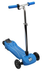 Pulse Safe Start Transform electric scooter in blue