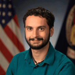 HI Seas Mission V Crew Member Brian Ramos. Courtesy of HI-SEAS
