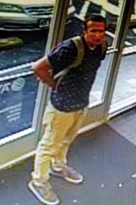 Retail Theft Suspect: Surveillance Image