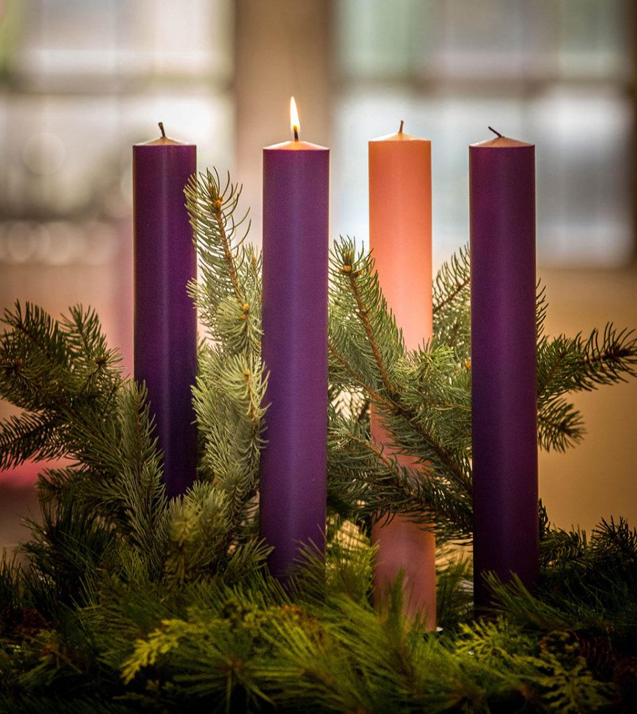 prayers at the advent wreath hawaii catholic herald. Black Bedroom Furniture Sets. Home Design Ideas
