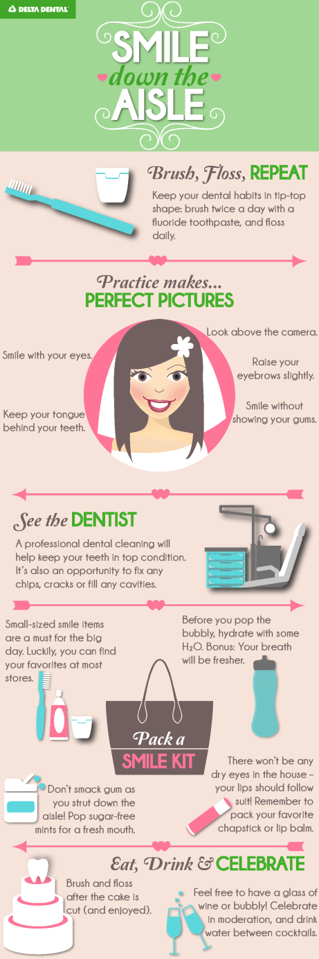 Smile tips for wedding season