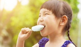 Popsicles can be a healthy treat to help you cool down in hot weather! Try some of these recipes: