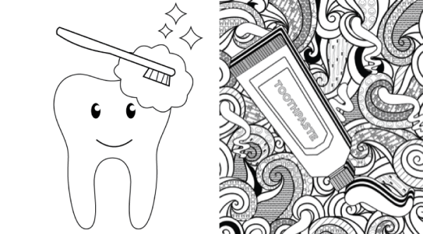 Coloring Pages for Kids & Grownups