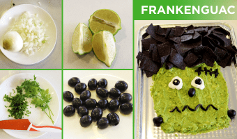 This filling Halloween kids snack is as healthy as it is spooky, packed with nutrients to keep the kids nourished all through trick-or-treating.