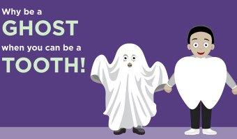 Use our instructions to make your very own tooth costume.