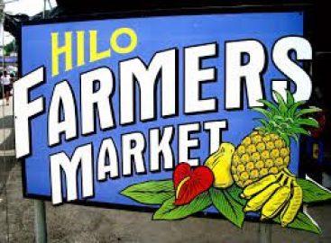 Sign For Hilo Farmers Market - Farmers Market Hawaii