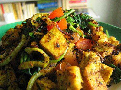 Vegetarian Food On Plate - Hawaii