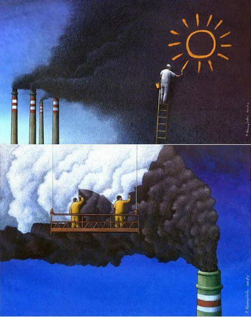 Environmental Satire Cartoons Hawaii Eco Living