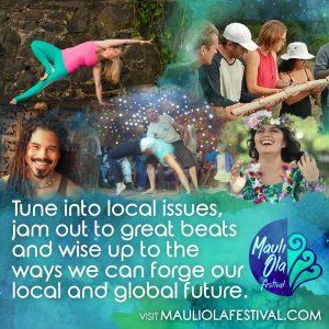 Big Island Hawaii Mauli Ola Festival Yoga Coffee Music