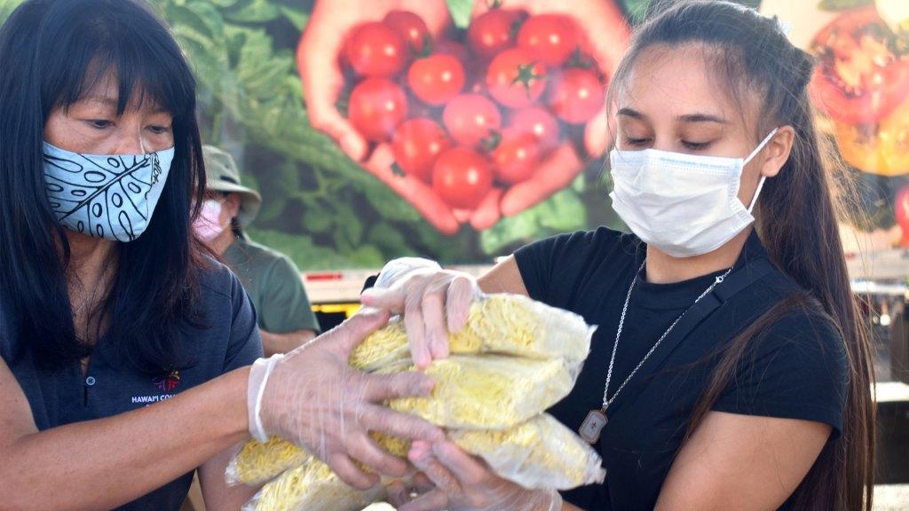 Food for Hawaii's Ohana