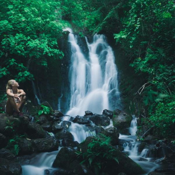 Hike to Waihe'e & Hamama Falls