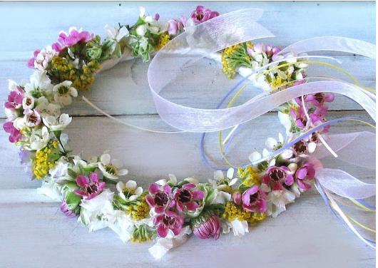 Fairy flower crowns